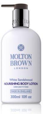 Molton Brown White Sandalwood Body Lotion/10 oz. Formerly Travel-Reviving Cempaka