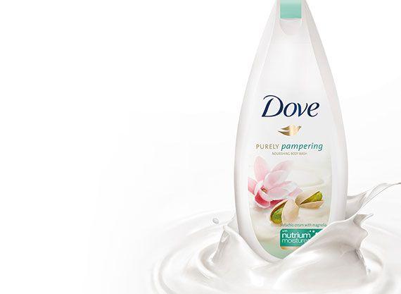 Dove facial wash cream