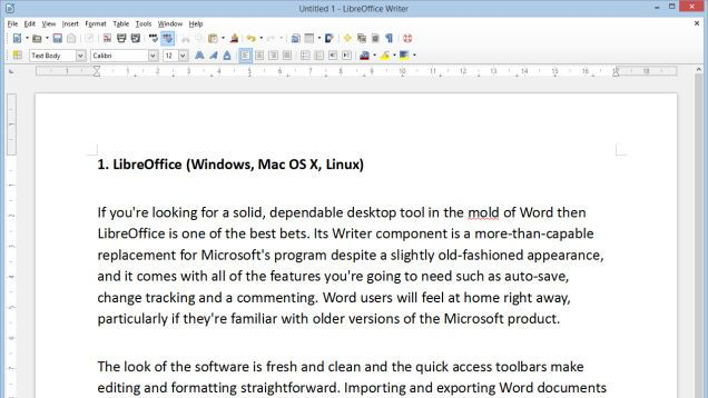 The Best Microsoft Word Alternatives That Are Totally Free (word processors)