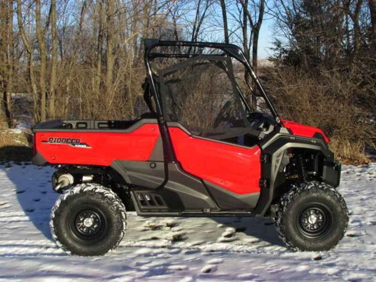 New 2016 Honda Pioneer 1000 EPS ATVs For Sale in Iowa. 2016 Honda Pioneer 1000 EPS, 2016 Honda® Pioneer® 1000 EPS Not Just Bigger: Better. The outdoors is meant to be explored. The highest hills, the deepest canyons, and the farthest reaches of the forests all lie in wait. And now, we bring you an entirely new vehicle that can get you there. The all-new Pioneer® 1000 is the world s preeminent side-by-side, both in the Honda® lineup, and the industry. Built around a class-leading 999cc…
