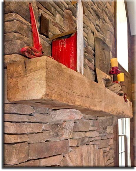 Antique Wood Mantels - Custom cut by Appalachian Woods, LLC