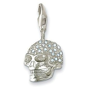 Life's True face is the SKULL!!! Cool Style with smashing #SkullCharm By #ThomasSabo