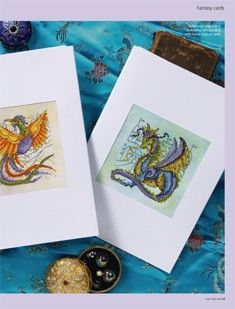 Myth and Magic 1/2 Cross Stitch Gold  Issue 93  Saved