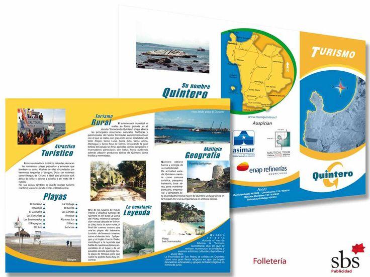 Tríptico Info turismo.