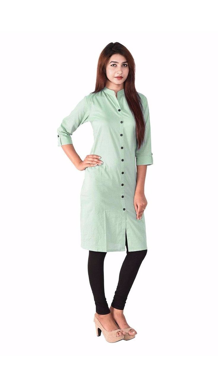 Buy Saiveera New Awesome Pista Green Formal Cotton Kurti Online at Low Prices in India - Paytm.com Saiveera Fashion is Popular brand in Women Clothing in Surat. Saiveera Fashion is Produce many kind of Women's Clothes like Anarkali Salwar Suits, Straight Salwar Suits, Patiala Salwar Suits, Palazzos, Sarees, Leggings, Salwars, Kurtis, etc. For any Query Contact/Whatsapp on +91-8469103344.
