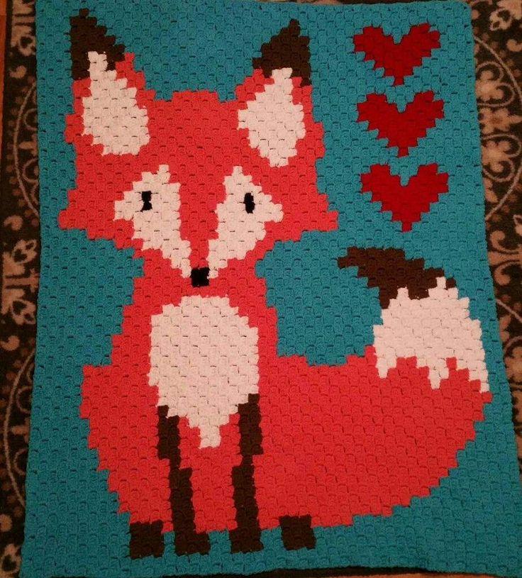 Free Crochet Fox Blanket Pattern : 25+ best ideas about Crochet Fox on Pinterest Fox ...