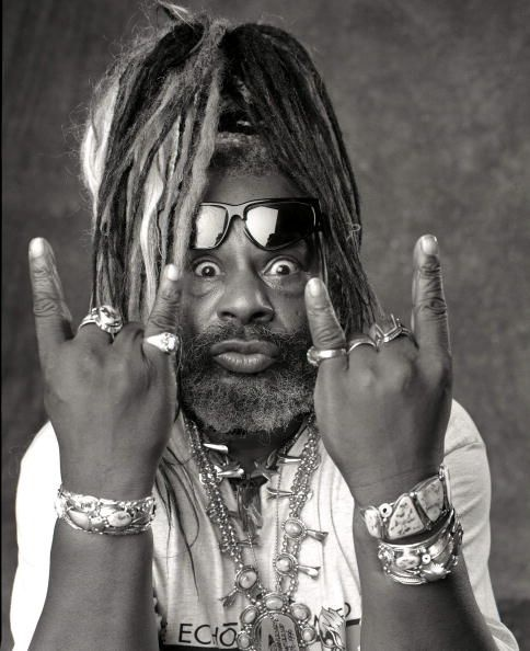"""""""The Atomic Dog"""" George Clinton was born July 22, 1941 in Kannapolis, NC.  *woof*"""