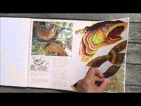 Visual Journal Case Study: This outstanding International GCSE Art and Design Coursework project was completed by Manisha Mistry in 2003, while studying IGCSE Art and Design (CIE 0400) at ACG Strathallan College, Auckland, New Zealand. Nice to see how she was inspired by both nature and art. Could inspire some sketchbook studies in the galleries.