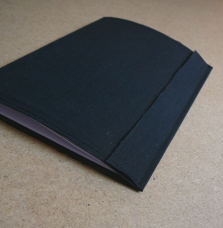 DIY notebook (fabric covered)