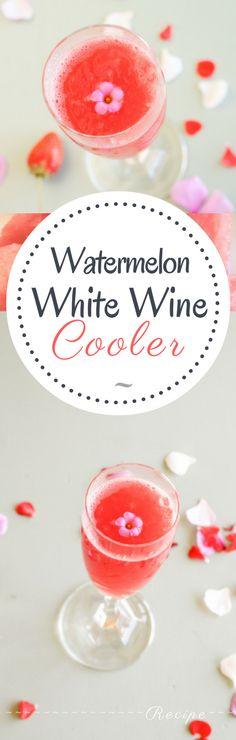 Watermelon White Wine Cooler