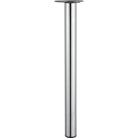 pied_de_table_cylindrique_reglable_en_acier_chrome_gris__70cmx60mm