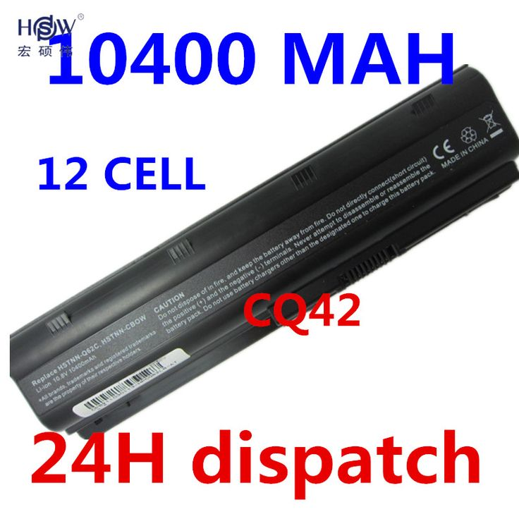 HSW 10400MAH battery for HP PAVILION DM4 DV3 DV5 DV6 DV7 G4 G6 G7 G72 G62 G42 for Presario CQ32 CQ42 CQ43 CQ56 CQ62 CQ72 MU06 #Affiliate