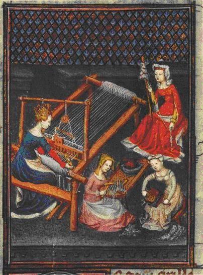 Le textile au Moyen Age - Le blog des compagnons de Valerien