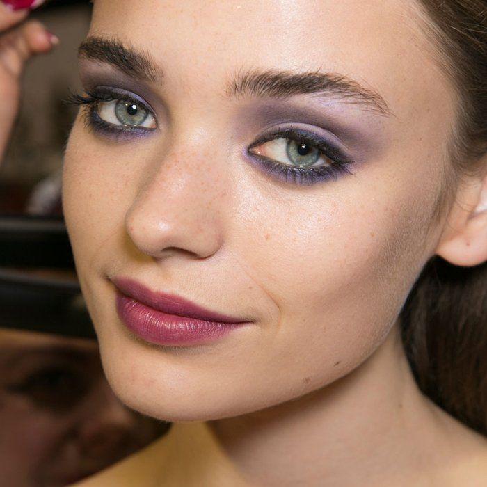 Maquillage de fêtes sur le défilé PPQ - Marie Claire