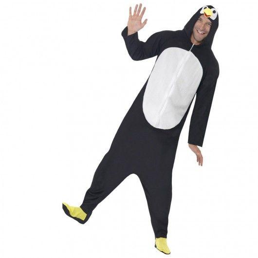 Pinguin kostuum heren