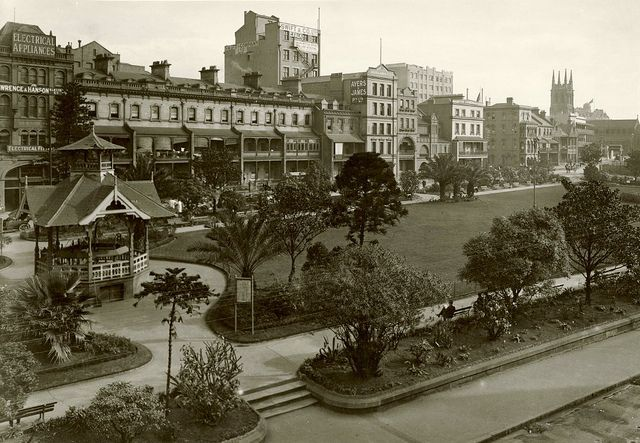 Wynyard Park, Sydney 1920 by State Records NSW, via Flickr