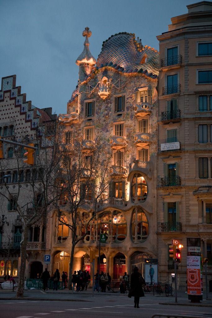 Casa Batlló, Barcelona España - Viajes 1,2,3,4