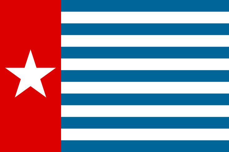 Morning Star flag - Republic of West Papua - Wikipedia, the free encyclopedia