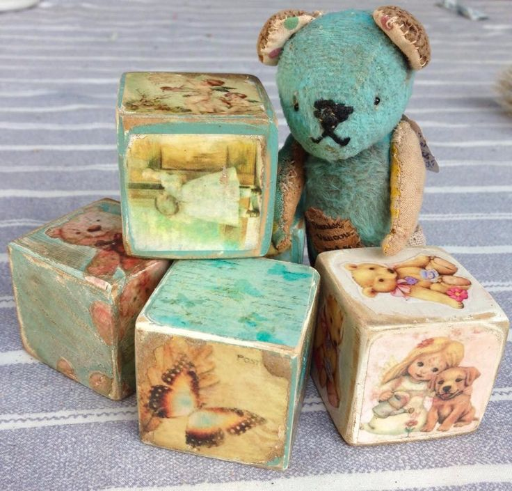 Started making these cute little blocks and now I can't stop!