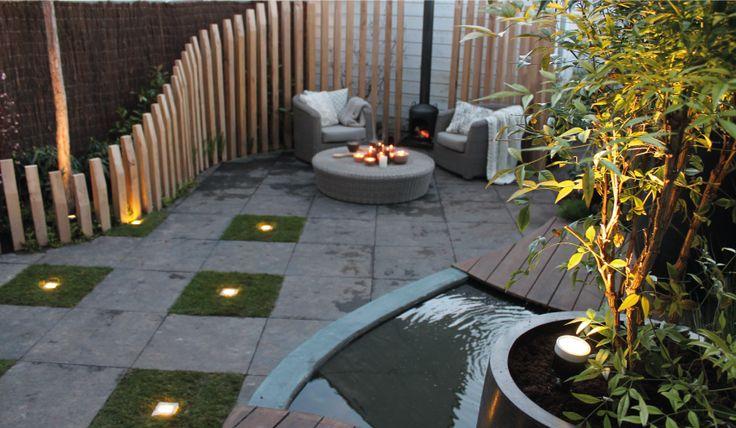 Moderne tuin | Graszoden | Grondspot FLH LED 008 | Outdoor lighting | 12V | tuinverlichting