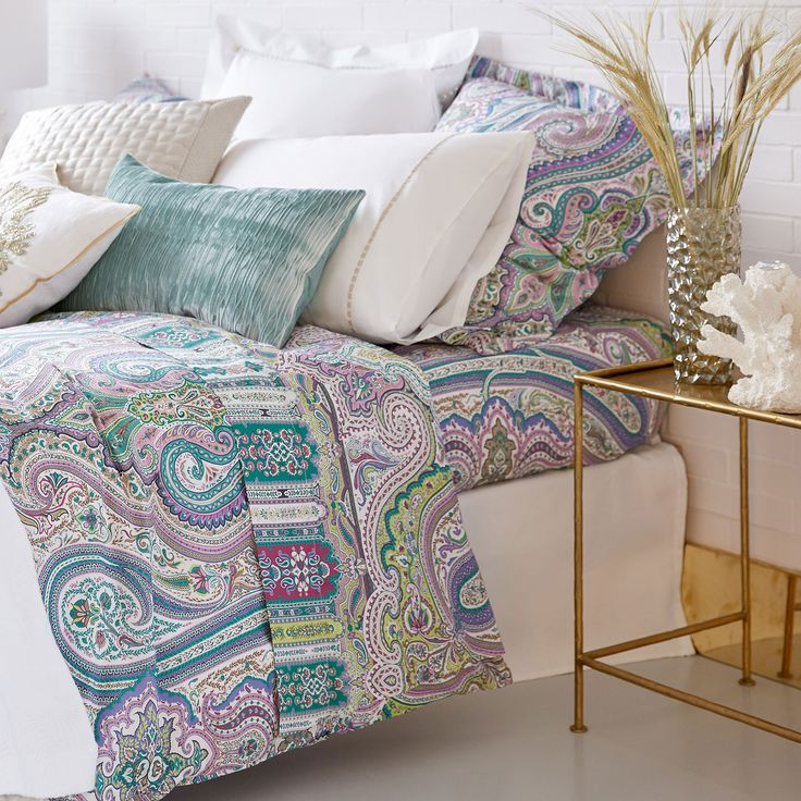 Image of the product Multicoloured Paisley Print Top Sheet