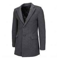 FLATSEVEN Men's Double Breasted Wool Blend Tweed Blazer Jacket with Peaked Lapel (BJ490) - Blazers #BLACKFRIDAY #CYBERMONDAY #MENSCLOTHING #MENSJACKET #MENSBLAZER #MENSFASHION