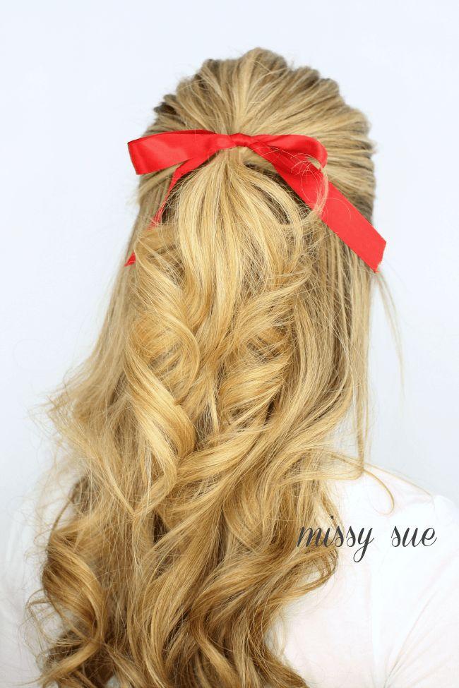 3 Half Updo Hairstyles