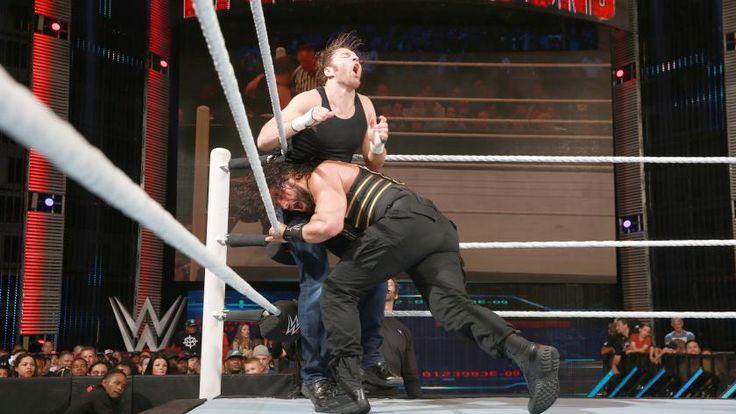 Dean Ambrose vs. Roman Reigns vs. Seth Rollins - Campeonato WWE: fotos