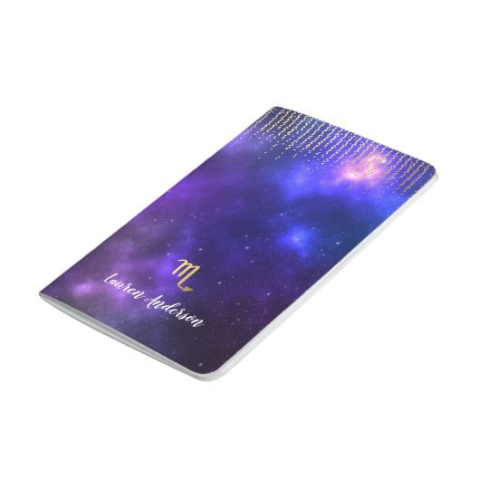 Scorpio Personalized Name Journal Notebook
