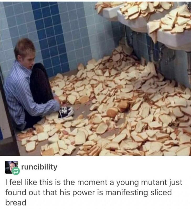 Breadman ready to save  your hungry ass!im ten minutes you need to go to school and don't have bread for your sandwiches??No worries breadman will be ther for you