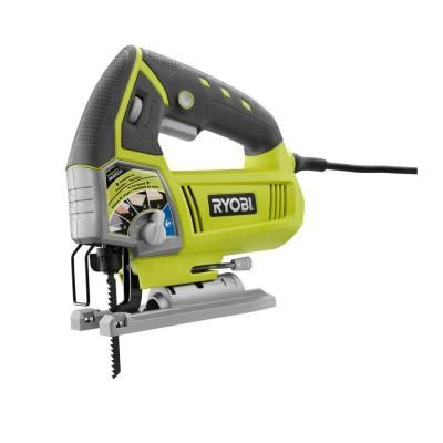 Get a Ryobi Corded Jig Saw for the tool lover in your life! This saw an integrated dust blower to keep debris away from the cut line. The LED light helps illuminate dark work areas, too.