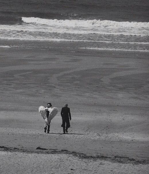 Daphne Groeneveld and Pascal Greggory in Numero September 2011 by Peter Lindbergh