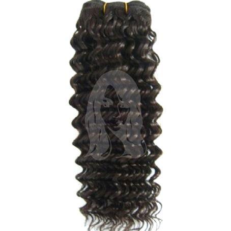 Tissage brésilien bouclé à l'unité, 100% cheveux humains de qualité Remy Hair. Du 12 au 26 pouces. Livraison gratuite.