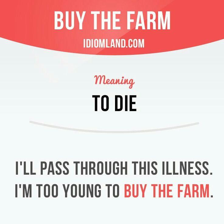 Buy the farm