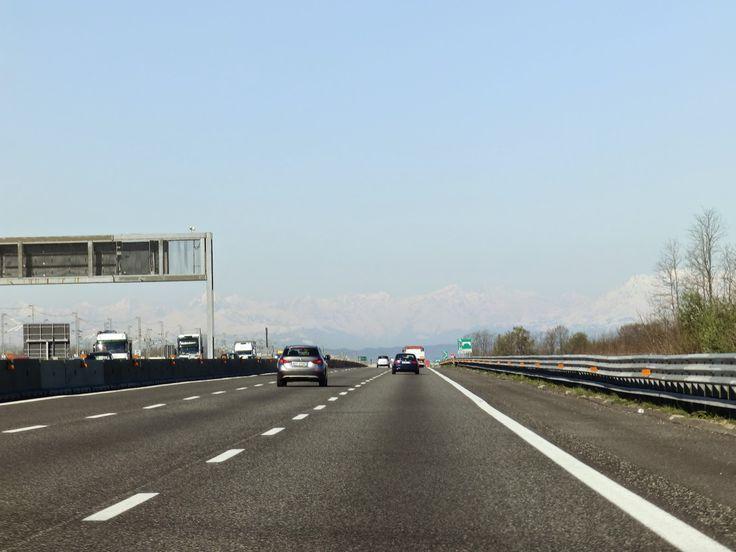 in viaggio verso Torino