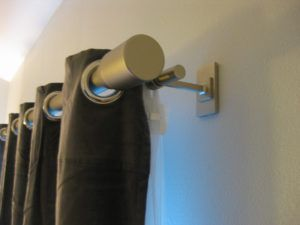 Large Curtain Rod Ends