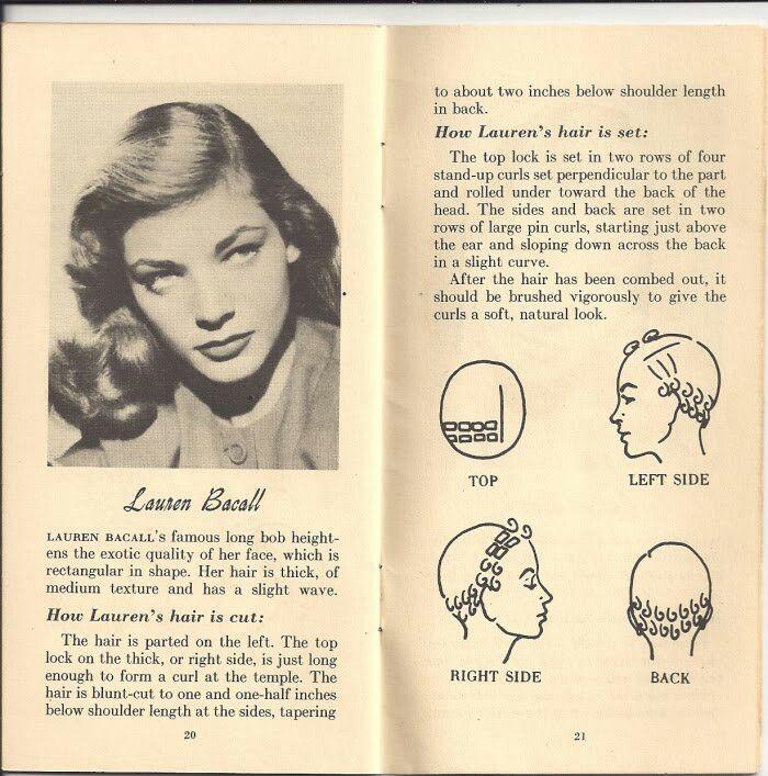 Lauren becall pin curl set
