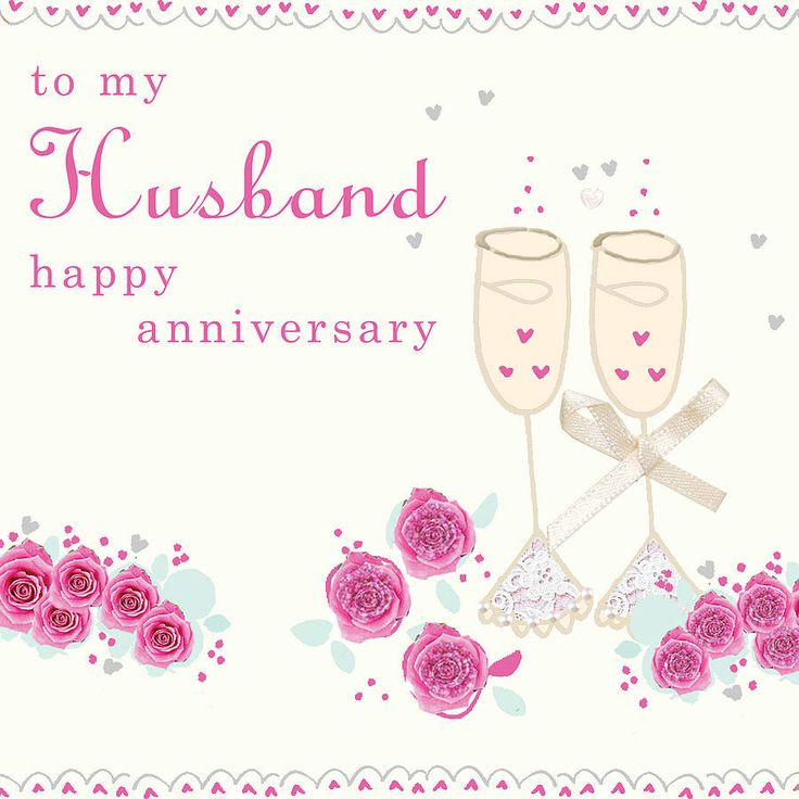 to my husband anniversary card by laura sherratt designs | notonthehighstreet.com