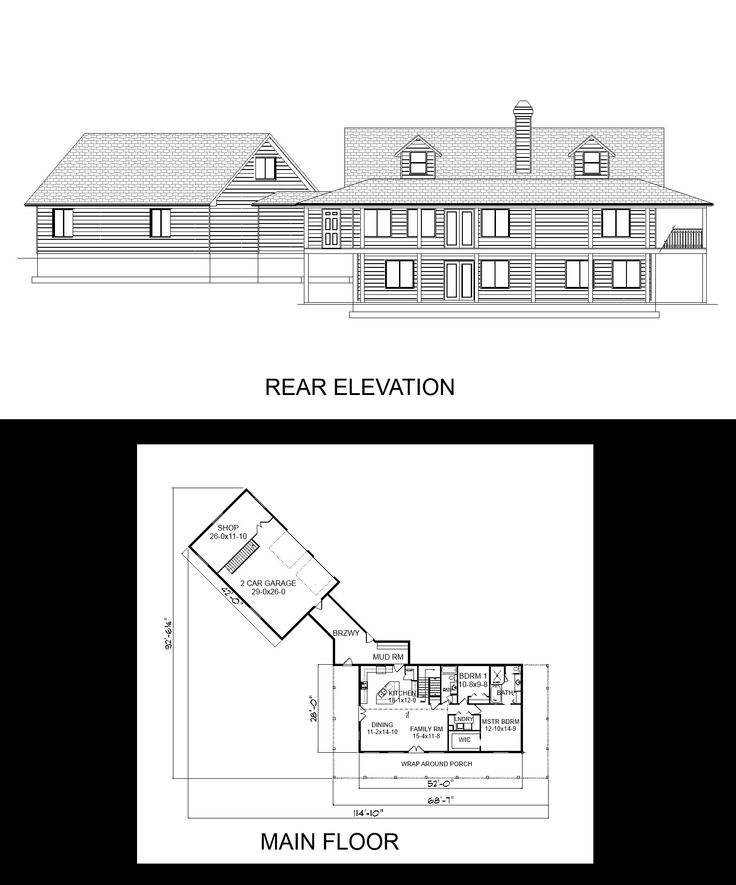 Single story house plans with bonus room above garage for Semi attached house plans