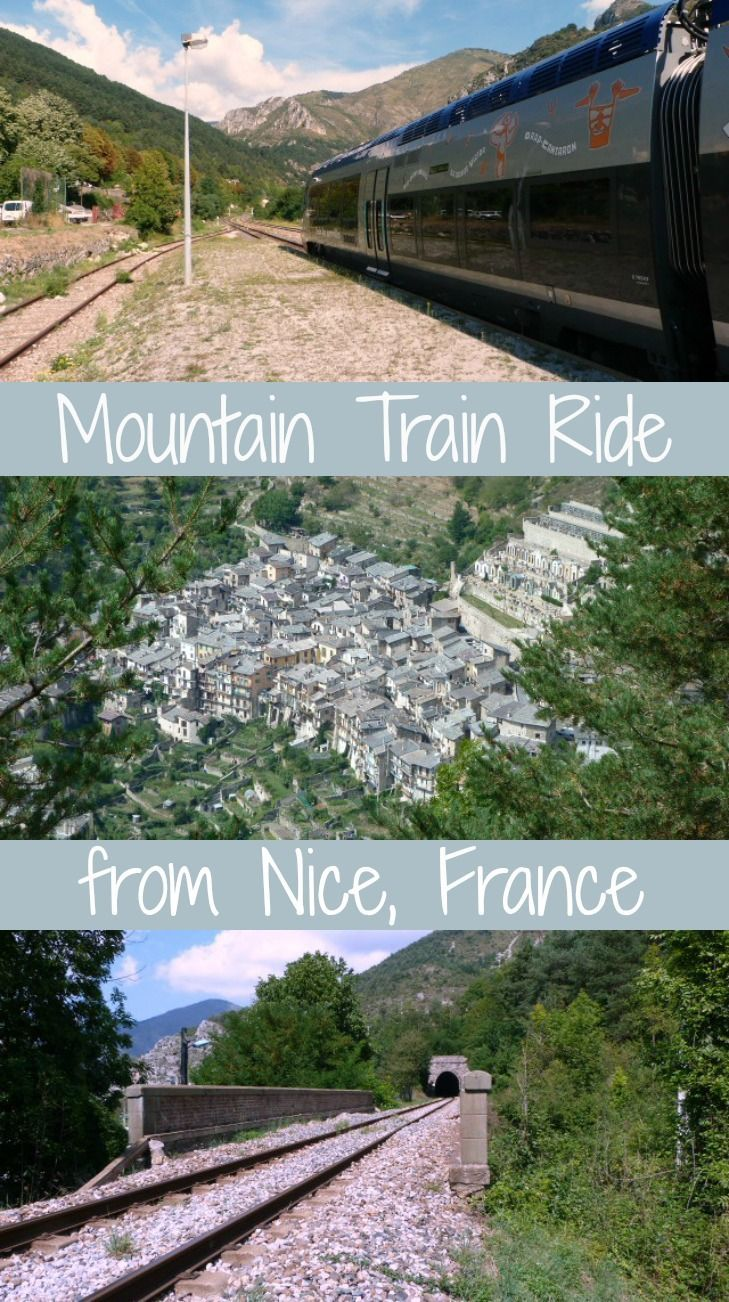 "Take the ""Train des Merveilles"" (train of marvels) from Nice to Tende in the Alps for a stunningly scenic day trip from Nice, Côte d'Azur, France"