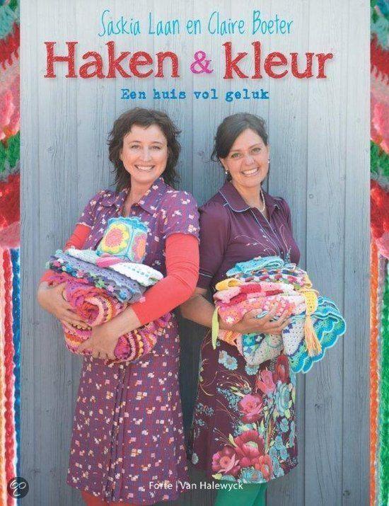 Haken & Kleur van Saskia Laan en Claire Boeter / crochet book