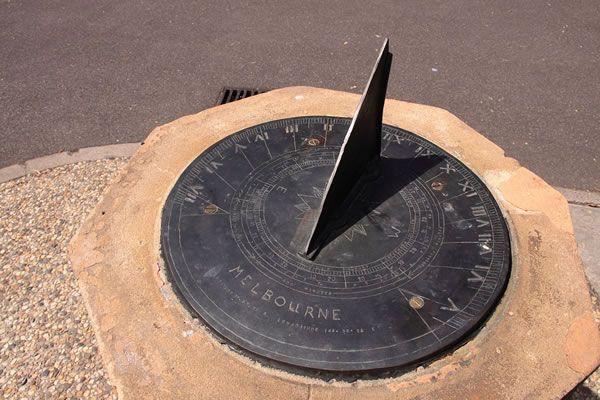 "Before clocks were commonplace, the terms ""sunwise"" and ""deasil"", ""deiseil"" and even ""deocil"" from the Scottish Gaelic language and from the same root as the Latin ""dexter"" (""right"") were used for clockwise. Clocks traditionally follow this sense of... #clock #clockwise #sun #sundial #sunwise"