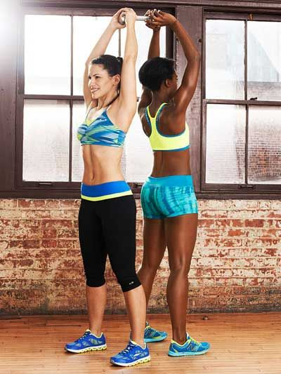 Grab a partner and do the Over-Under #exercise to work your core, shoulders and legs.