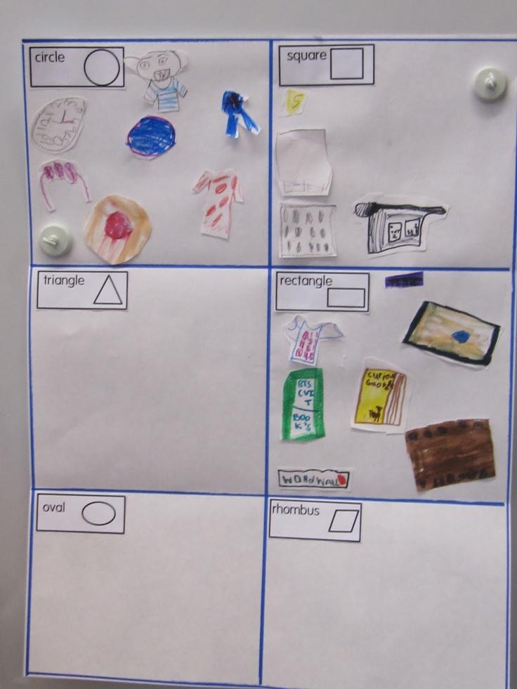 KC Kindergarten Times: shapes