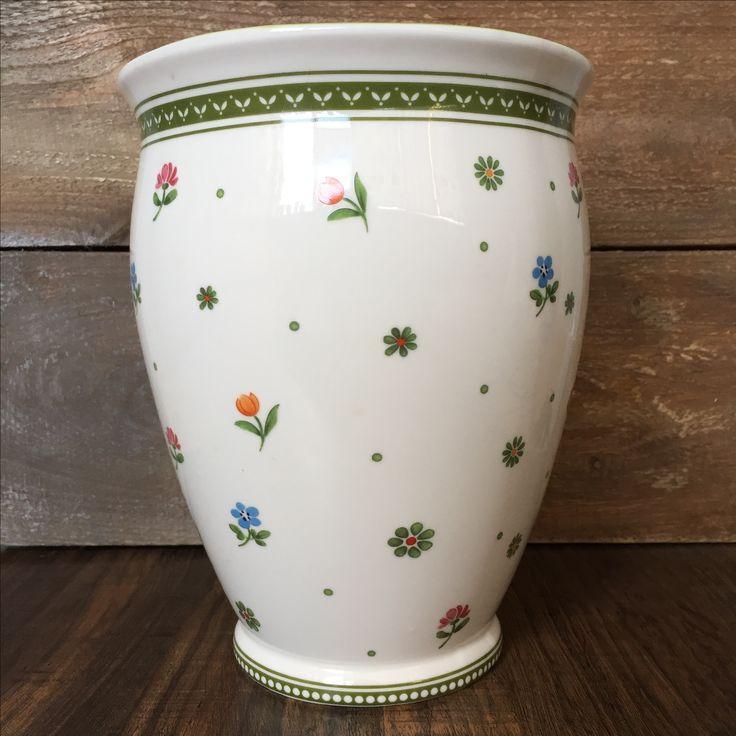 Villeroy Boch Farmer Spring Vase. @vsemfarfor only. 22cm Premium china. Made in Germany