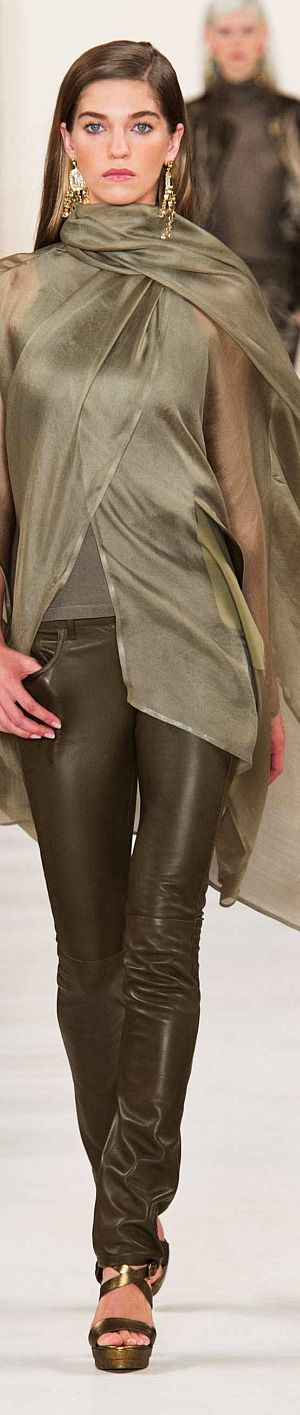 Ralph Lauren Collection Spring 2015 Sewing inspiration