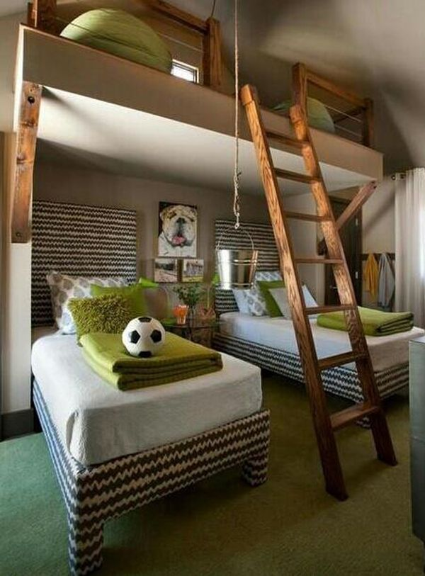 15 Awesome Kids Soccer Bedrooms 81 best