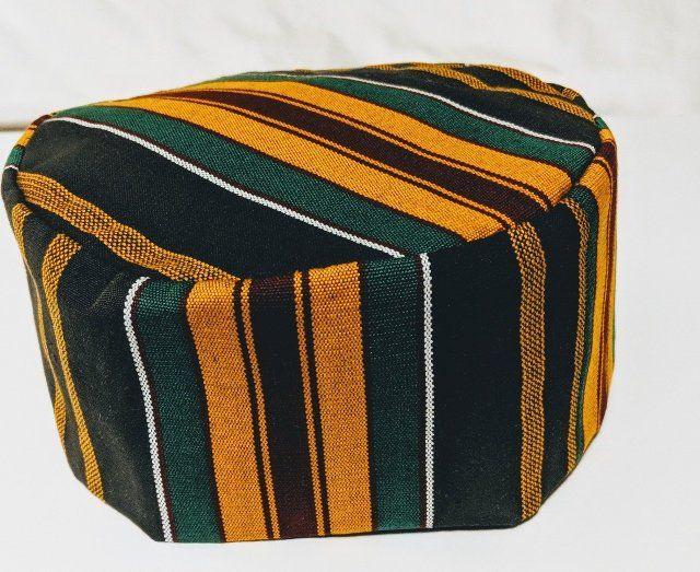 Kufi Hat African Kente Cloth Etsy Kente Cloth Kente Hat Fashion