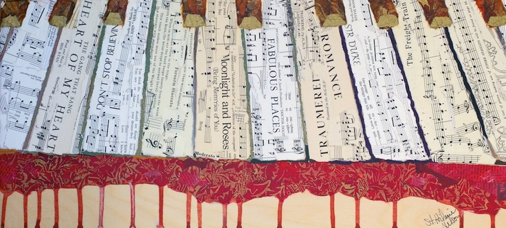Keys to the Kingdom - Elizabeth St. Hilaire Nelson - Paper Paintings