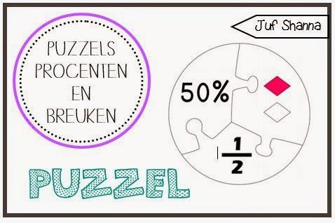 Puzzels - Breuken en Procenten